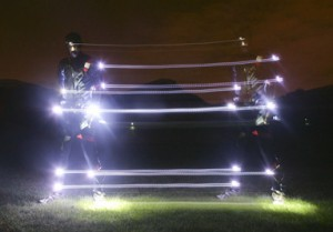 Speed of Light Suit in Action